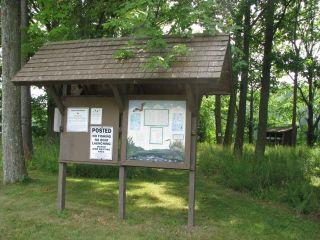 Kiosk at Marsh