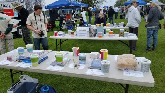 2016 Bird Fest Table